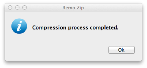 Compress MP3 Files Mac - Compression Process Completed